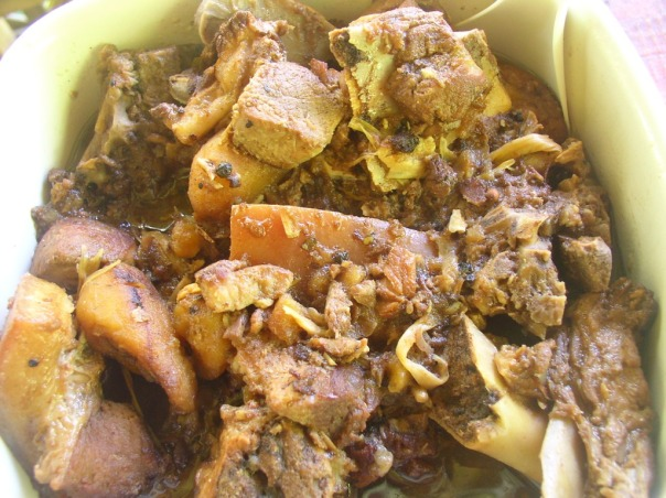 Yet another version of pork humba cooked with carrots and potatoes.